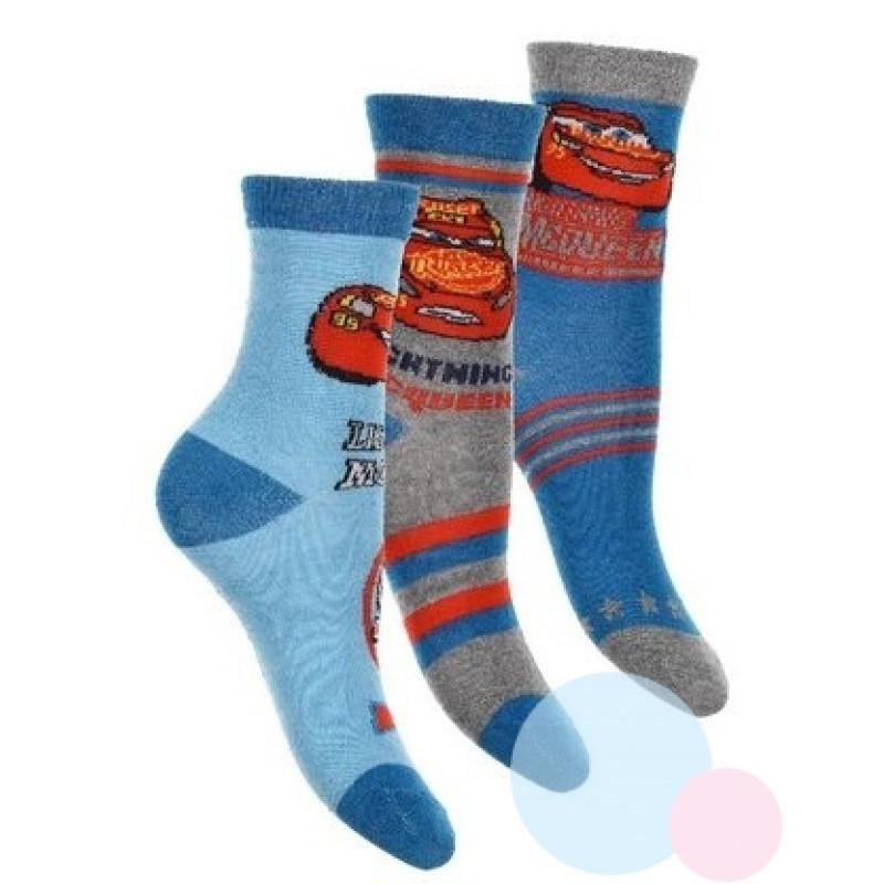 Ponožky Cars 3ks