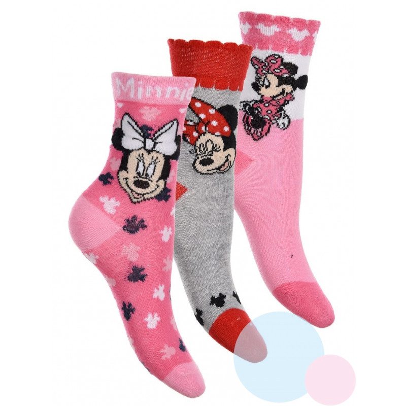 Ponožky Minnie 3 kusy
