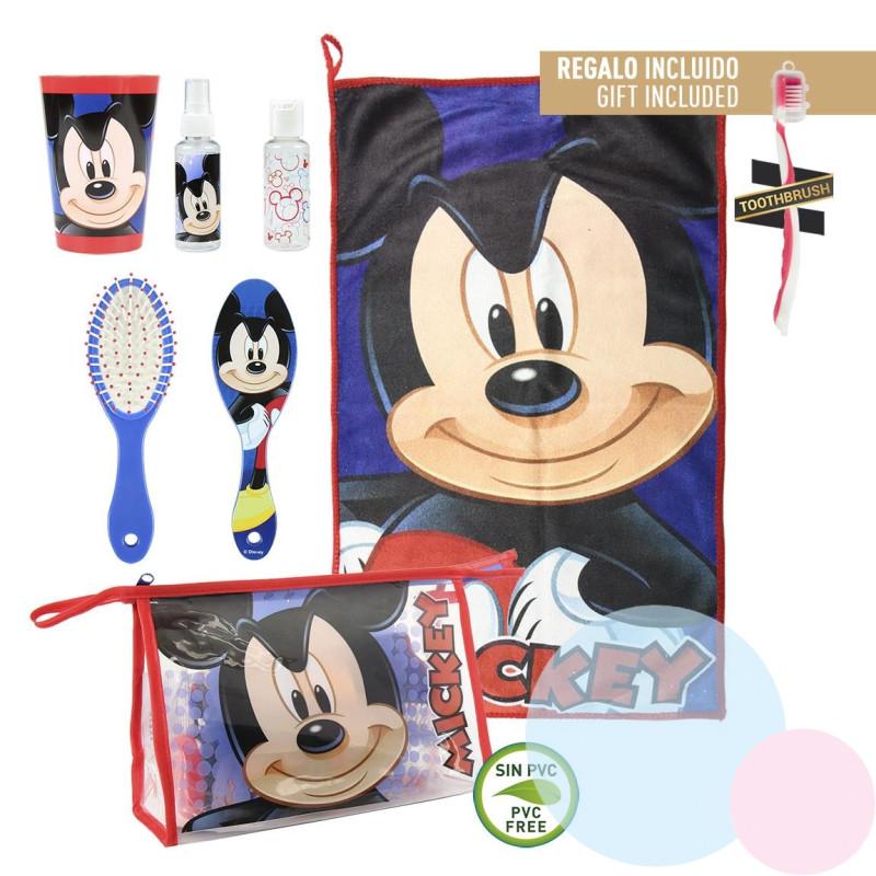 Hygienická taštička Mickey 6-dílná