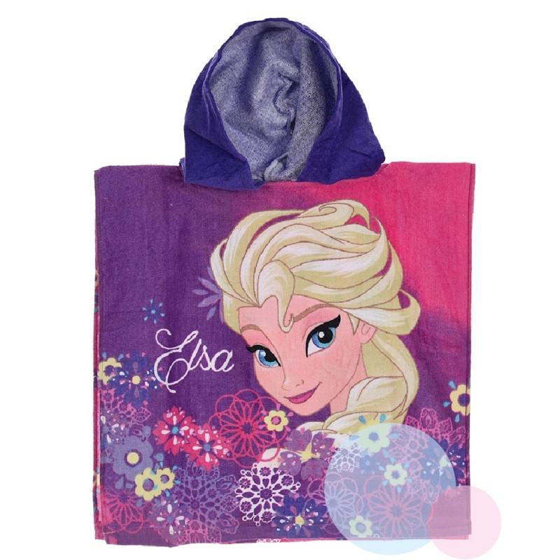 Pončo Frozen Elsa