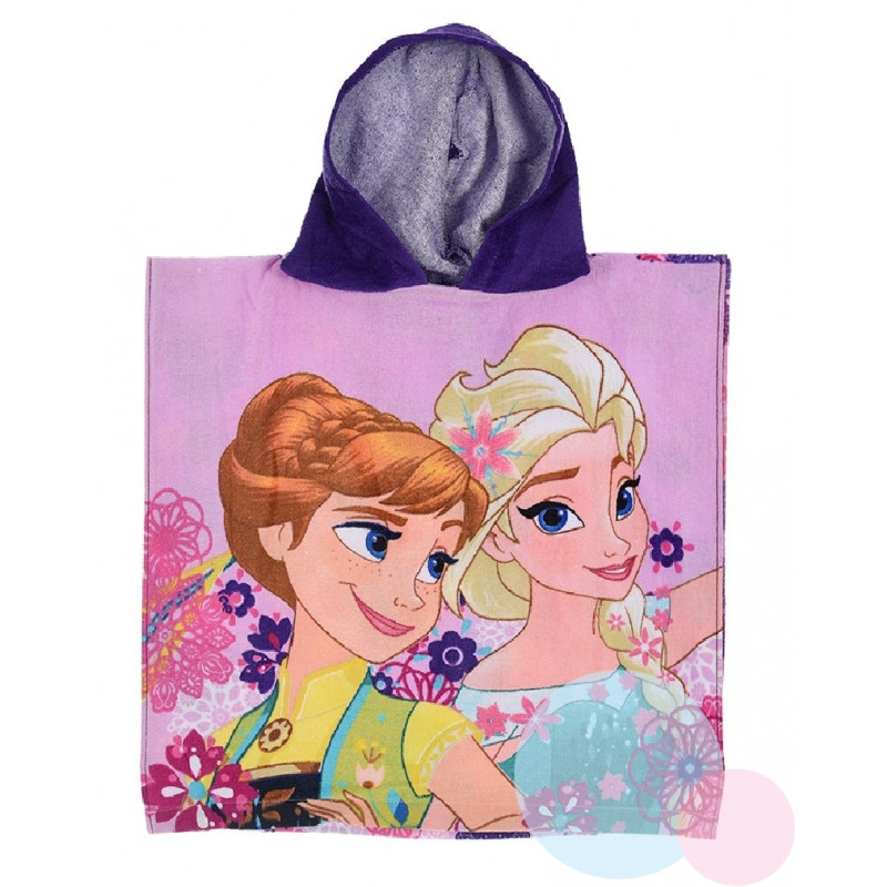 Pončo Frozen Elsa a Anna