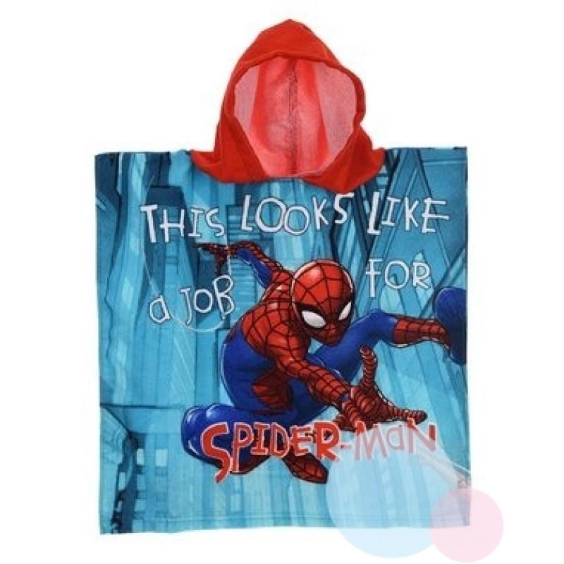 Pončo Spiderman micro