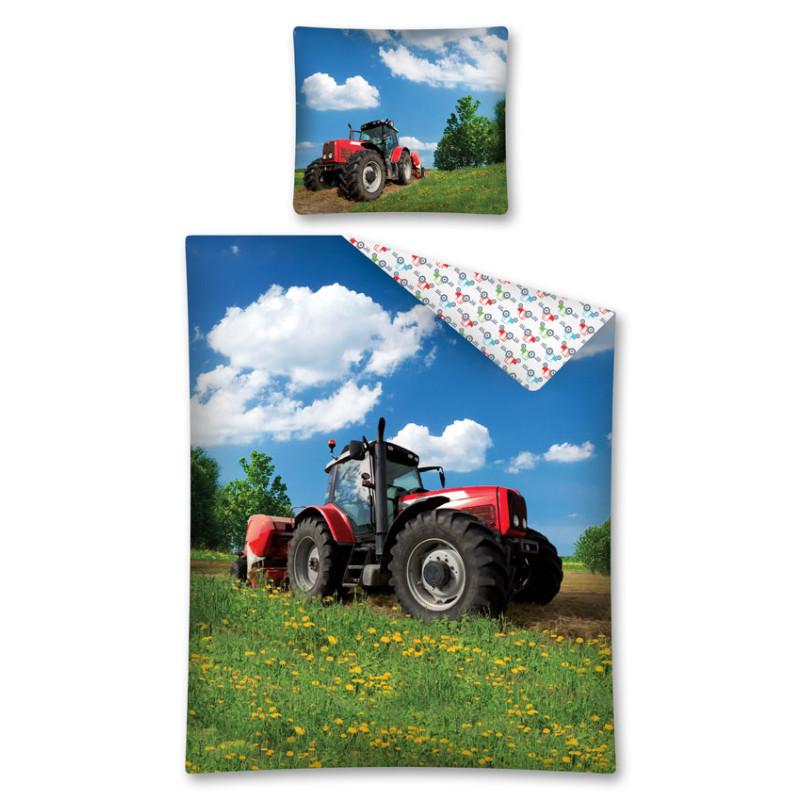 Povlečení Traktor na louce