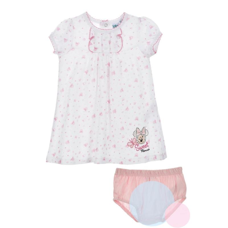 Šatičky a kalhotky Minnie baby