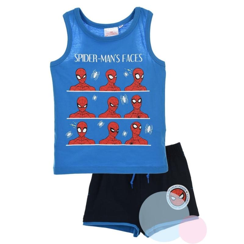 Tílko a kraťasy Spiderman