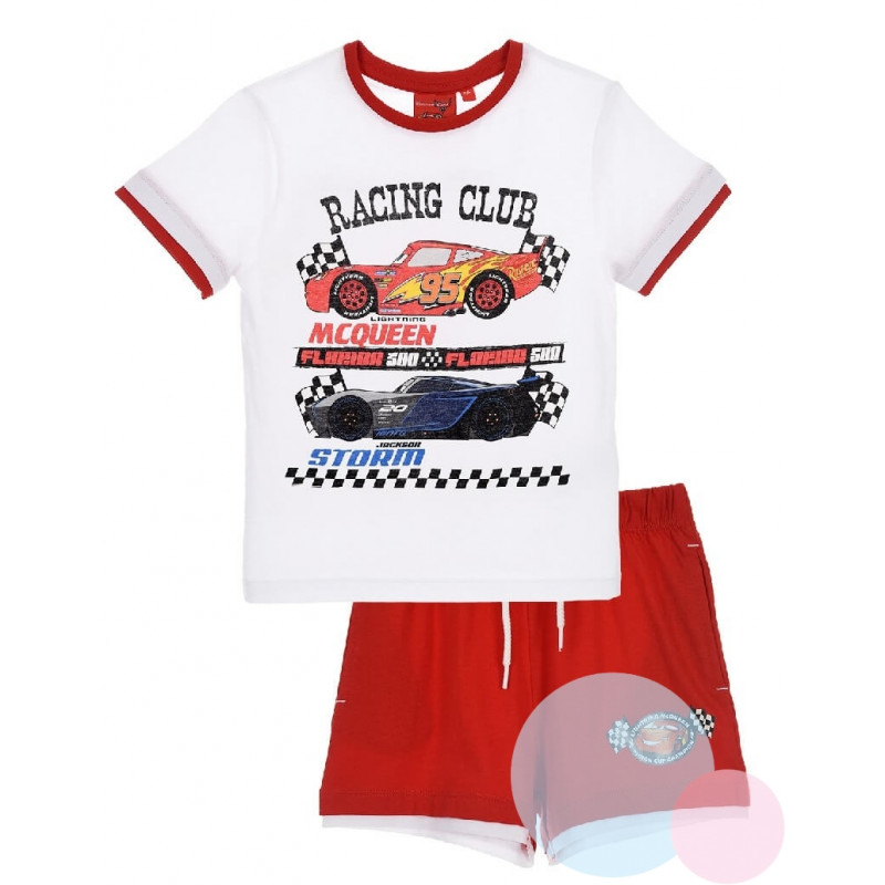 Tričko a kraťasy Cars