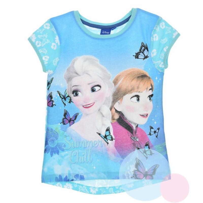 Tričko Frozen ANNA a ELSA