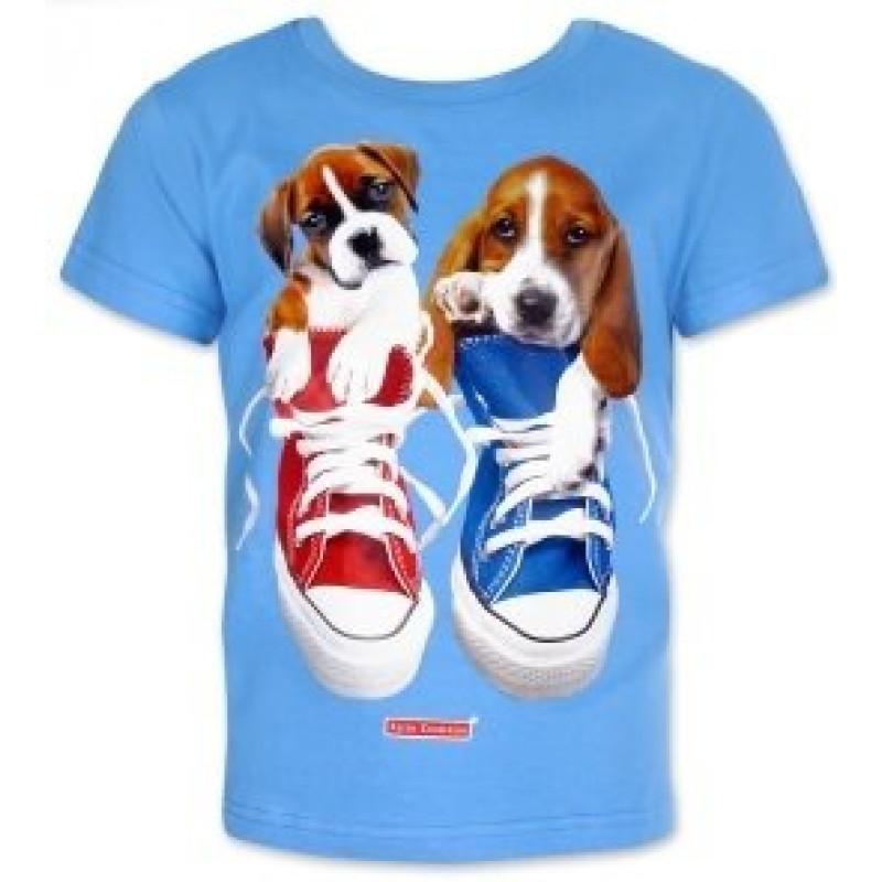 Tričko Štěňata v botě