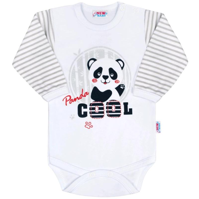 Body s dlouhým rukávem Panda