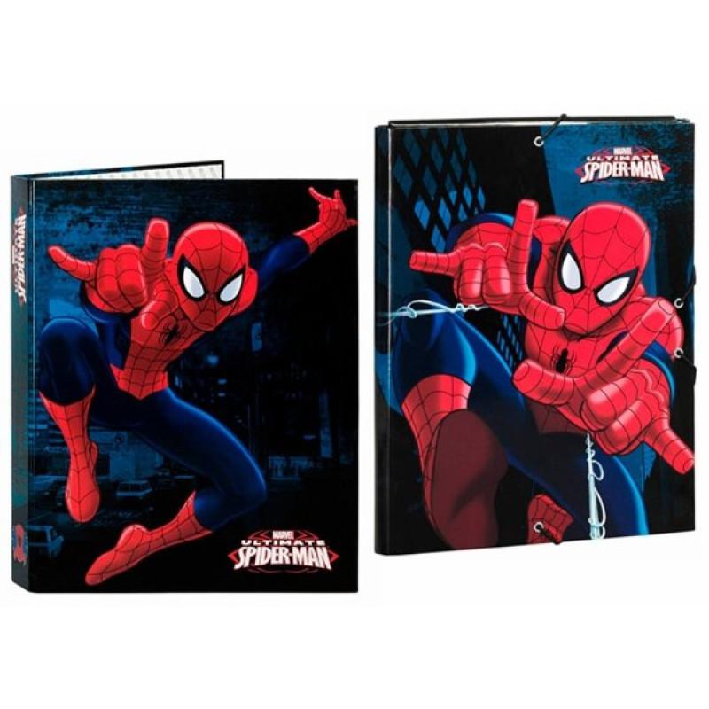 Box na sešity a pořadač Spiderman