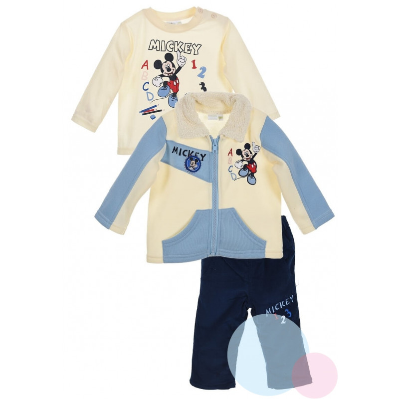 Bunda, triko a kalhoty Mickey II.