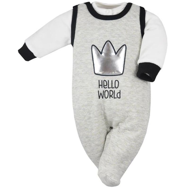 Kabátek a dupačky Koala Hello World