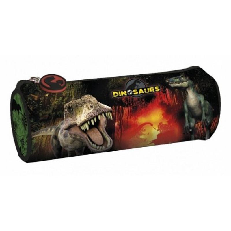 Penál Dinosaurus kulatý