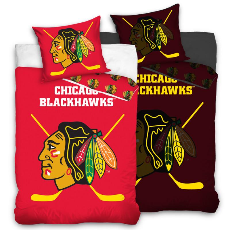 Povlečení NHL Chicago Blackhawks - svítící