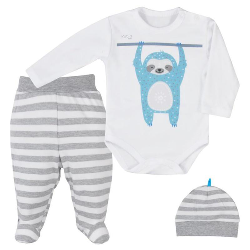 Body, polodupačky a čepička Koala Sloth