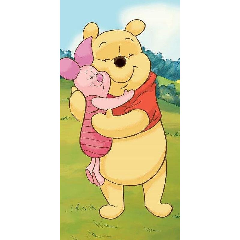 Osuška Medvídek Pú a Prasátko