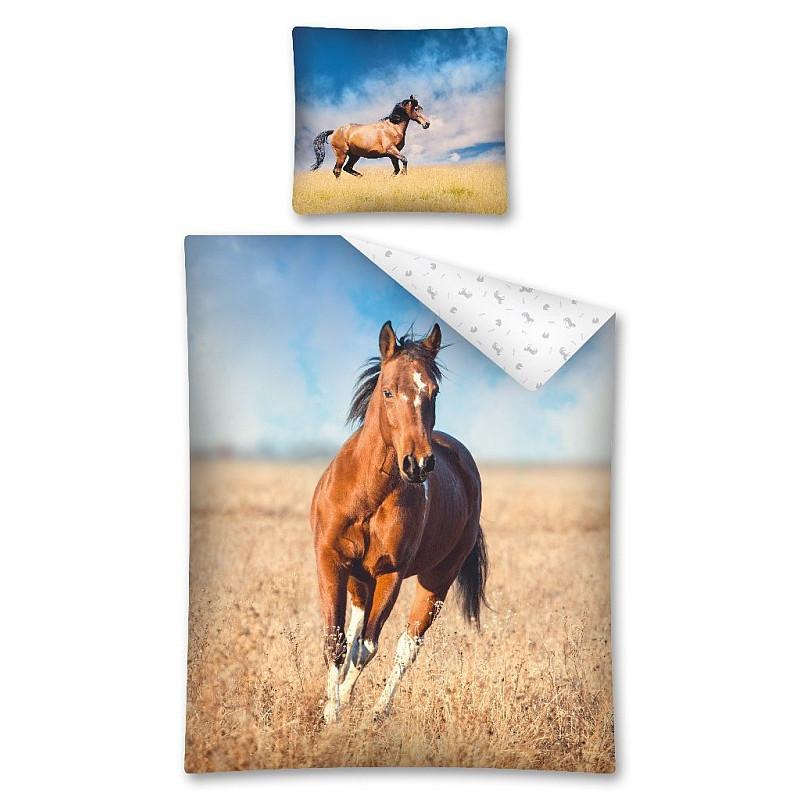 Povlečení Kůň na poli