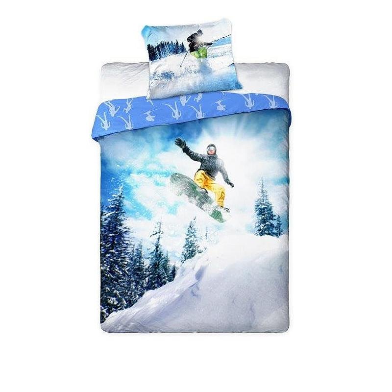 Povlečení Snowboardista