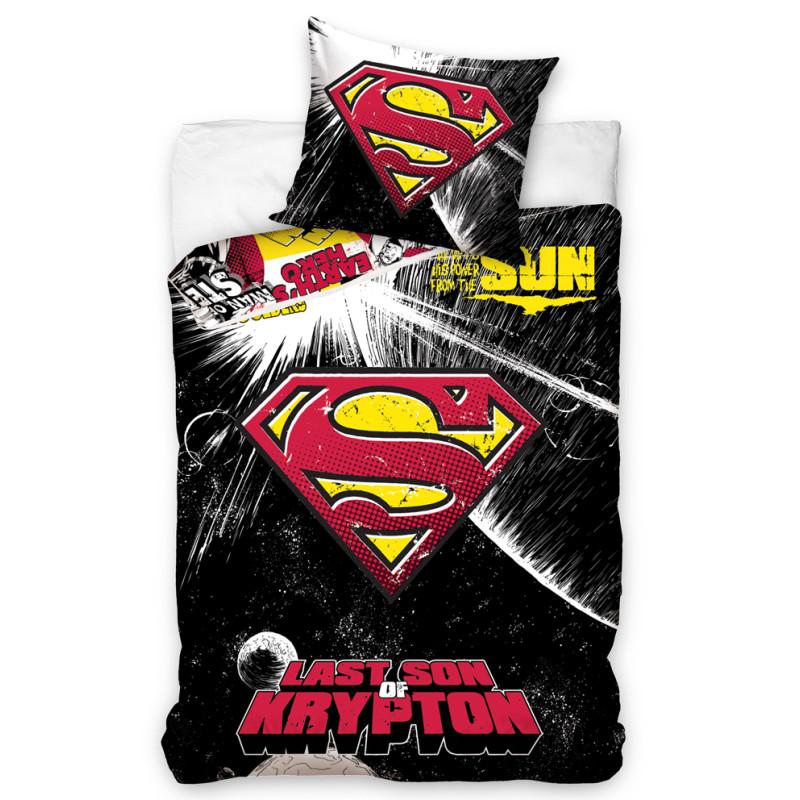 Povlečení Superman Black