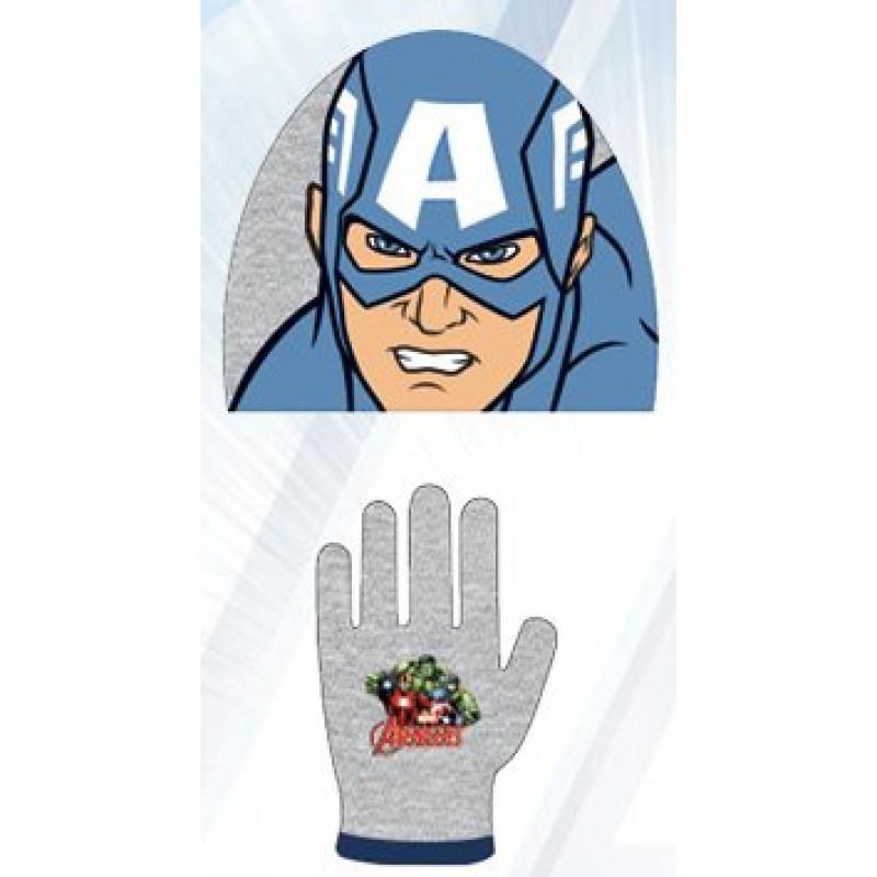 Čepice a rukavice Avengers