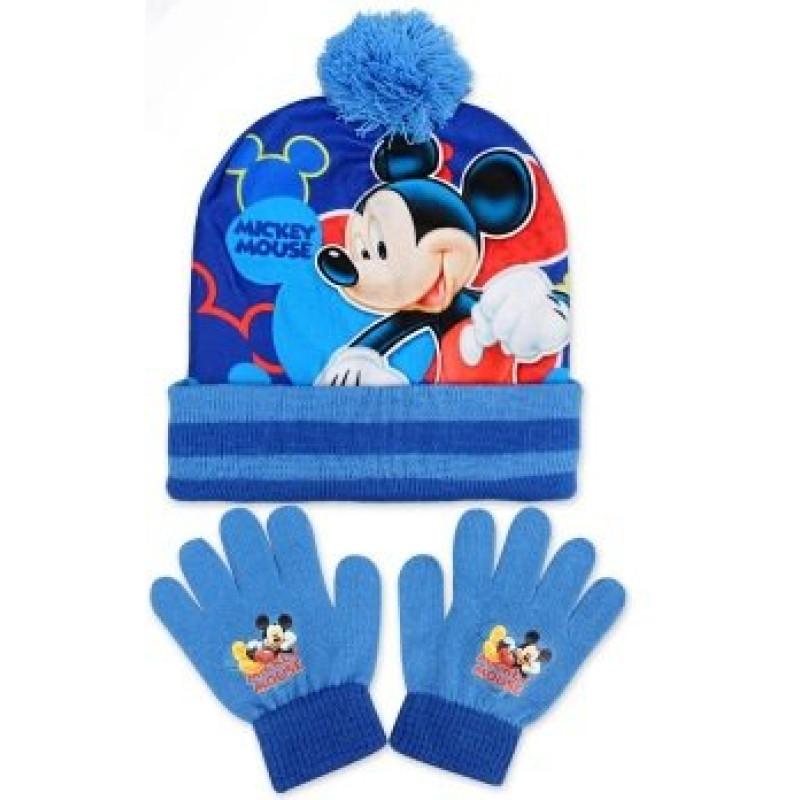 Čepice a rukavice Mickey
