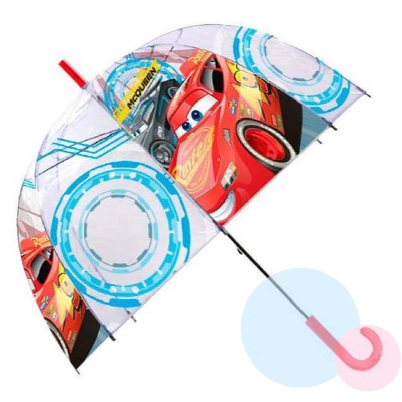 Deštník Cars průhledný