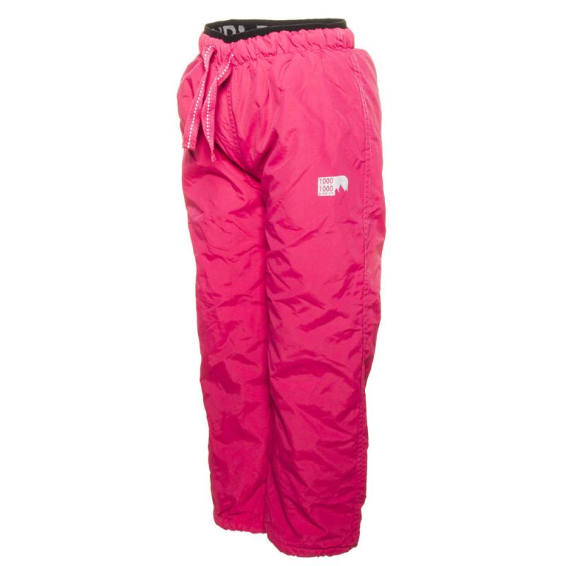 Kalhoty s fleecem