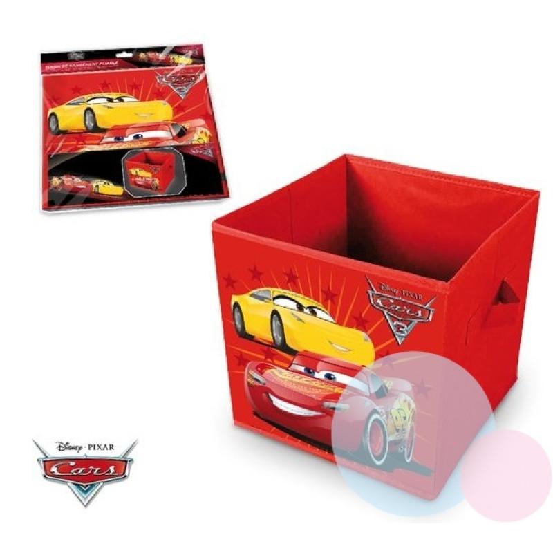 Koš na hračky Cars