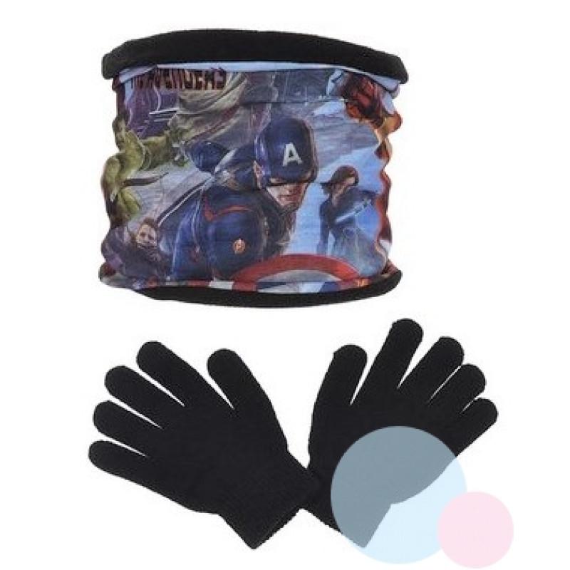 Nákrčník a rukavice Avengers