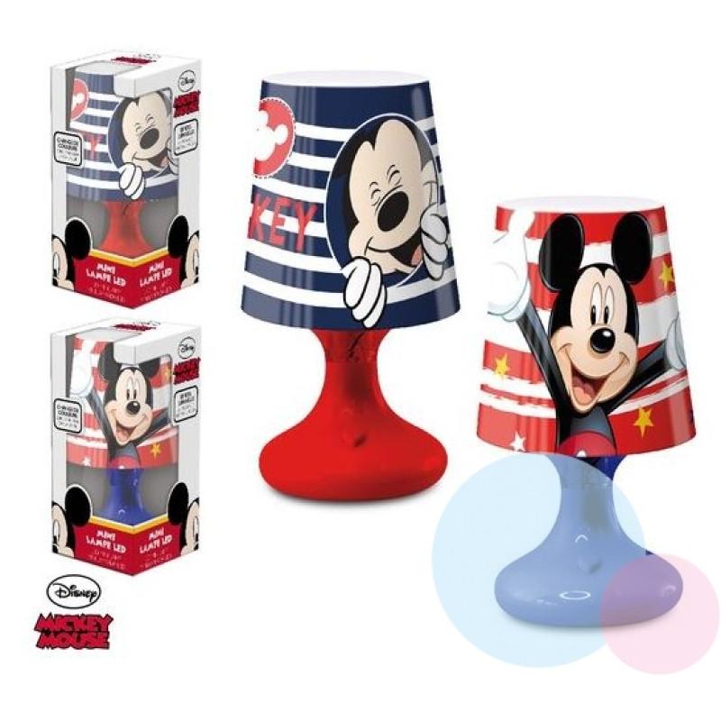 Lampička Mickey LED