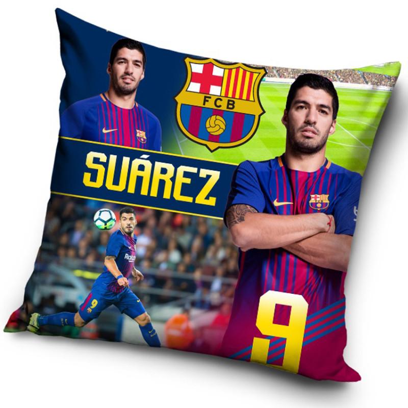 Polštářek FC Barcelona Suárez 2018