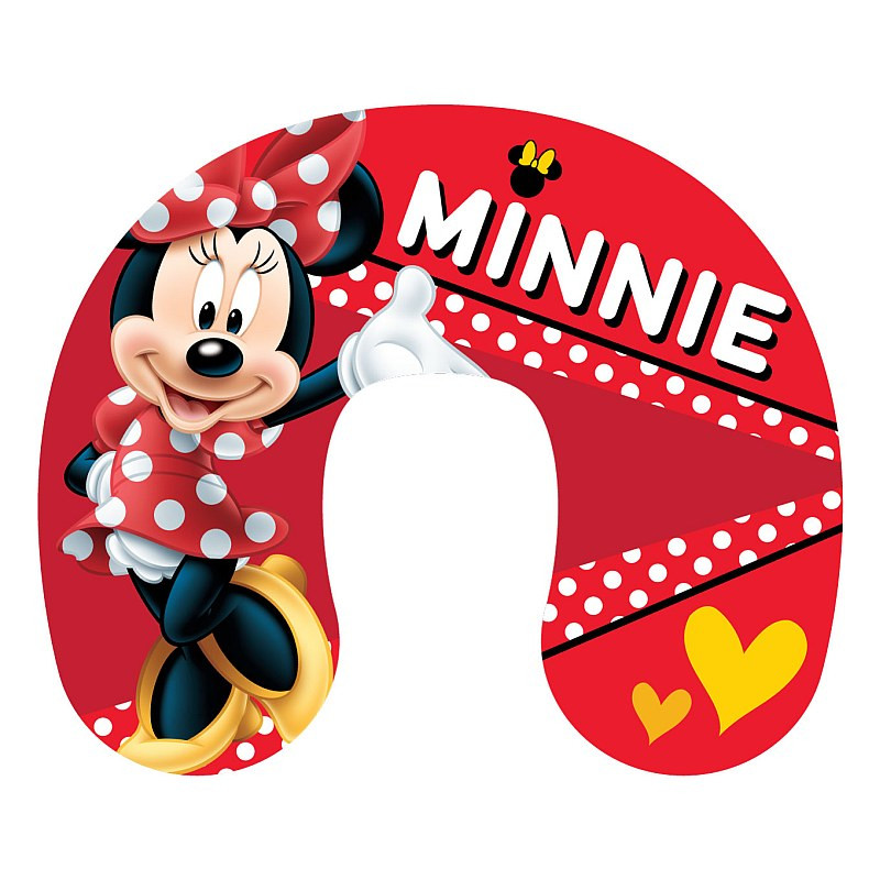 Cestovní polštářek Minnie red