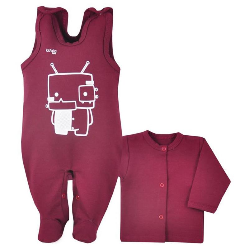 Kabátek a dupačky Koala Robot