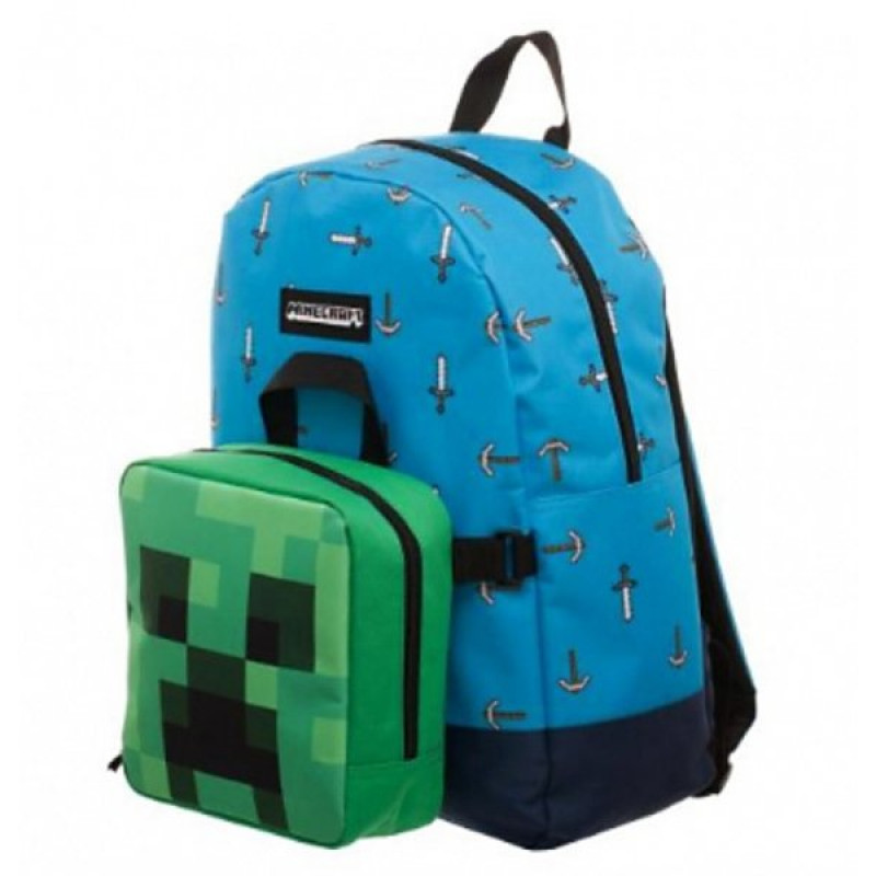 BATOH s LUNCH BOXEM Minecraft