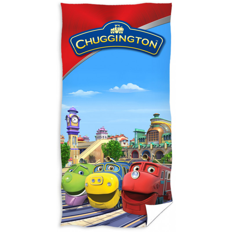 Osuška Chuggington - Veselé vláčky Depo