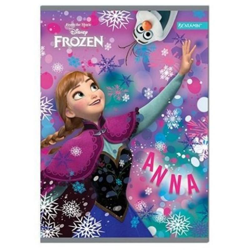 Sešit A5 Frozen Disney