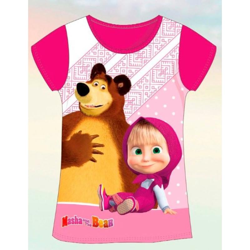 Tričko Máša a Medvěd