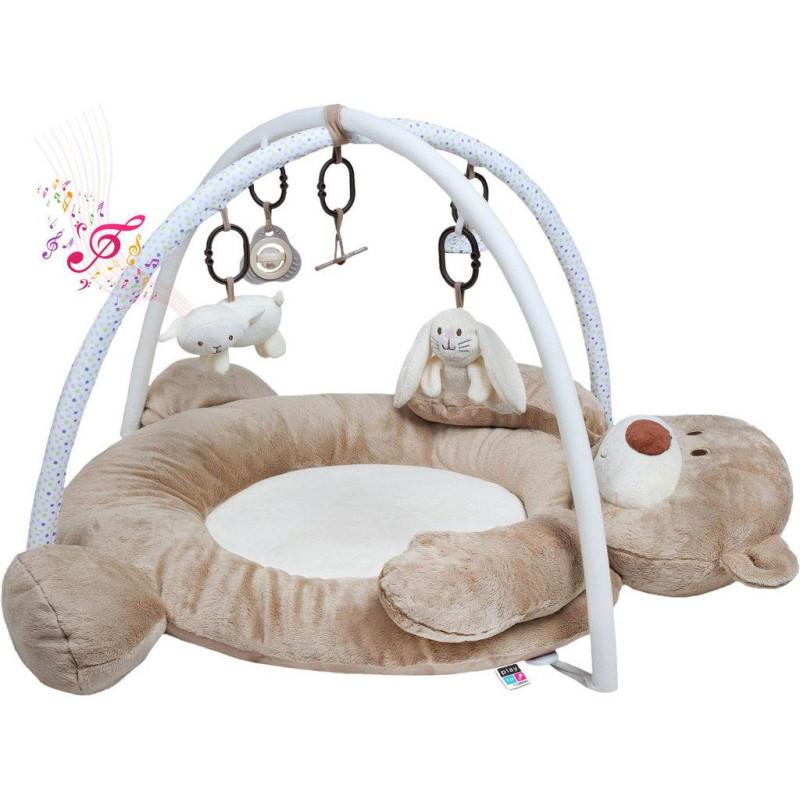 Hrací deka s melodií PlayTo medvídek