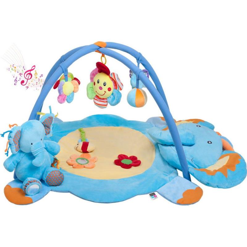 Hrací deka s melodií PlayTo slůně