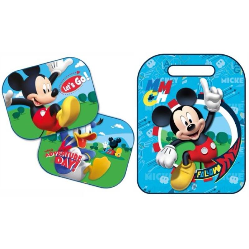 Ochrana sedadla a clona Mickey Mouse