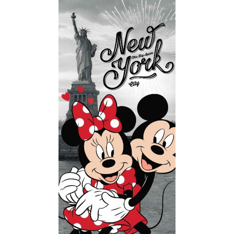 OSUŠKA MINNIE A MICKEY IN NEW YORK