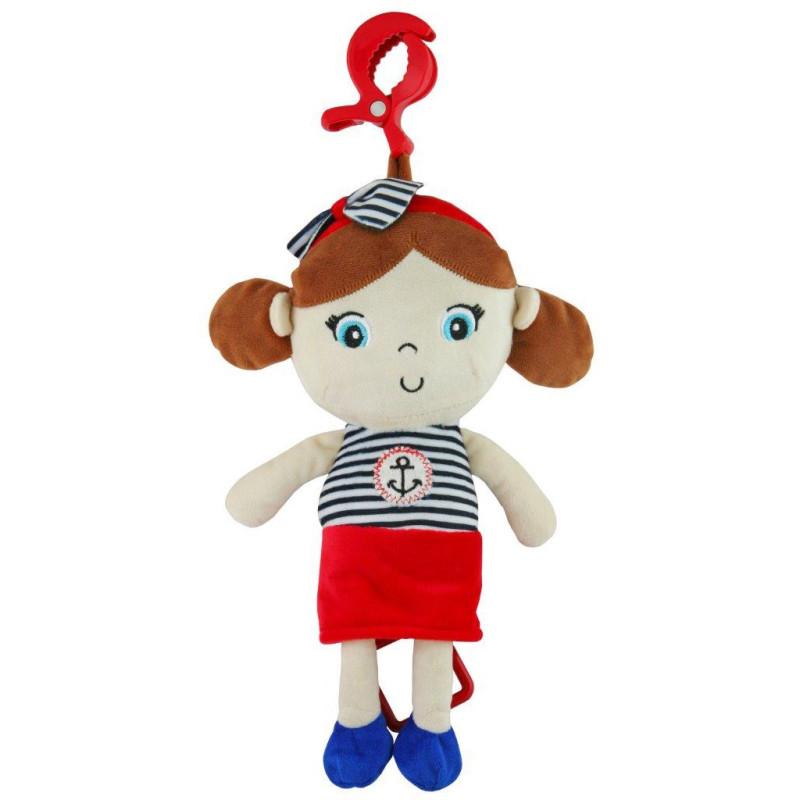 Plyšová panenka Baby Mix námořník holka