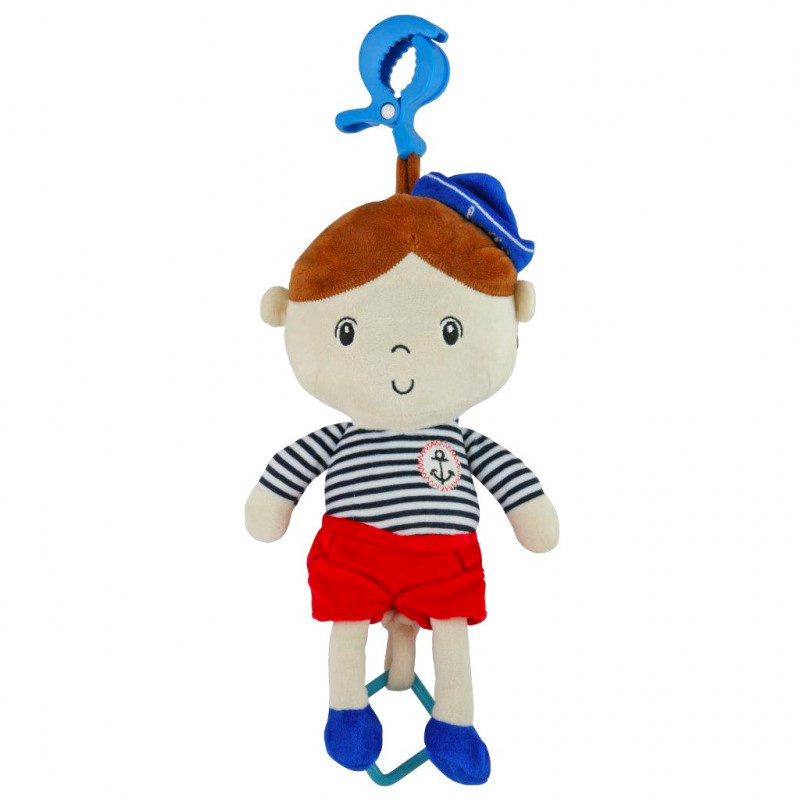 Plyšová panenka Baby Mix námořník kluk