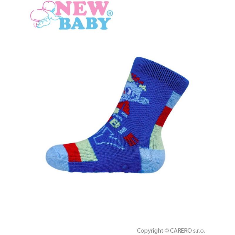 Ponožky New Baby s ABS zombie boy