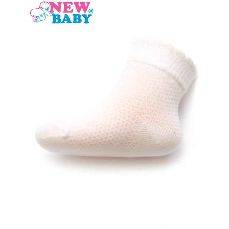 Ponožky se vzorem New Baby