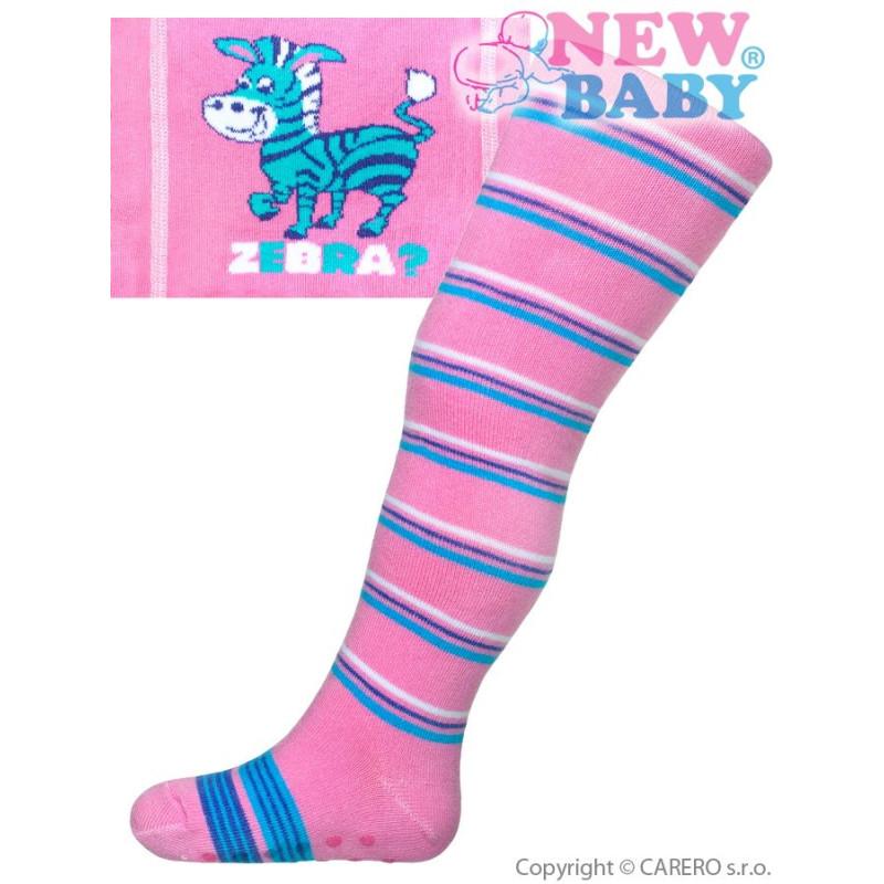 Punčocháče New Baby zebra