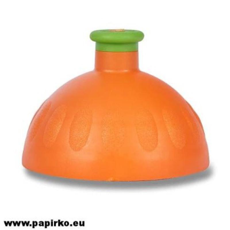 Zdravá láhev - víčko - oranžová
