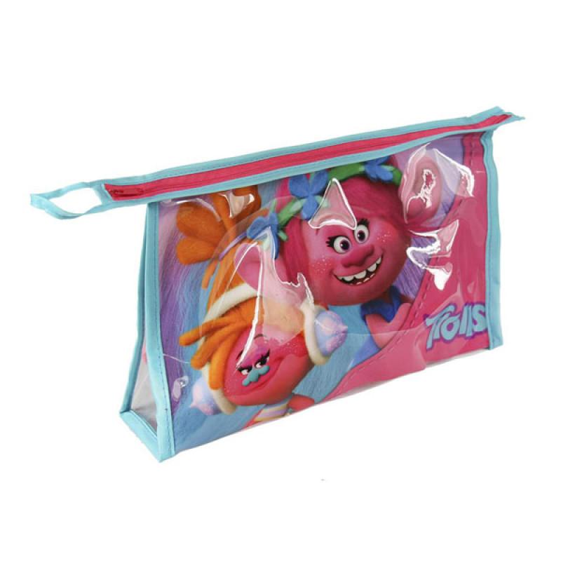 Kosmetická taška vybavená Trollové