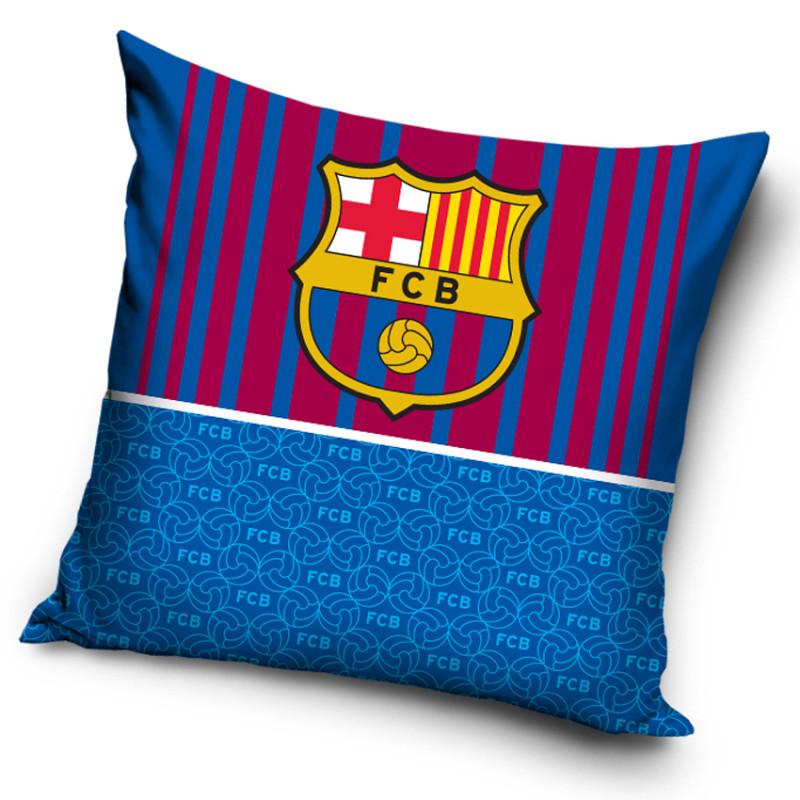 Povlak na polštářek FC Barcelona Half Blue