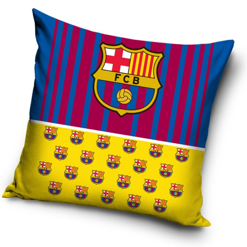 Povlak na polštářek FC Barcelona Half Yellow